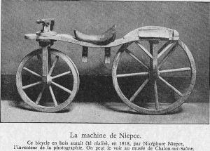 niepce bike 1818